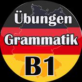 Deutsch Übungen Grammatik B1 -  kostenlos Lernen icon