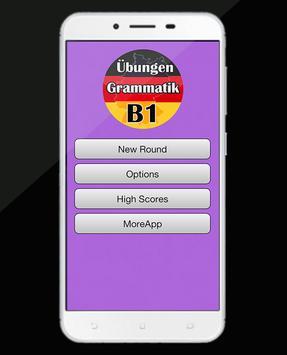 Deutsch Übungen Grammatik B1 -  kostenlos Lernen poster