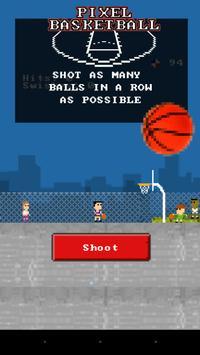 Pixel Basketball poster