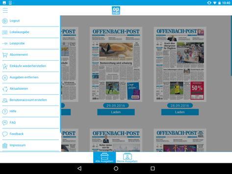 Offenbach-Post E-Paper apk screenshot