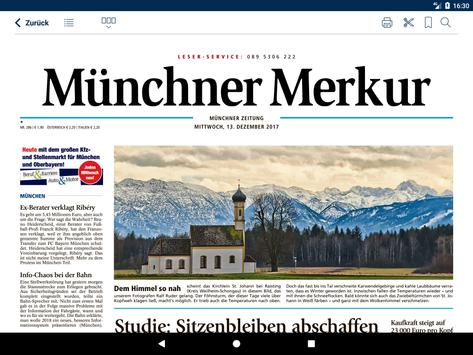 Merkur ePaper apk screenshot