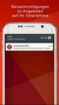 corporate benefits screenshot 4