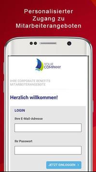 corporate benefits screenshot 1