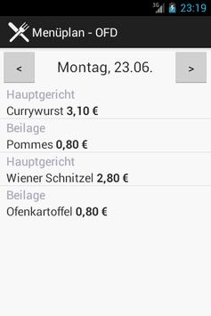 Menuplan apk screenshot