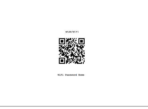 QR Code Generator WLAN screenshot 1