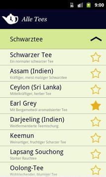 TeaTimer screenshot 1