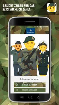 Bundeswehr Sticker poster