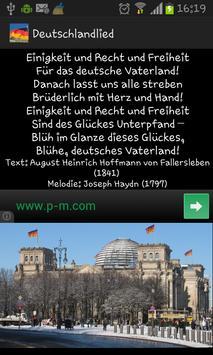 German Anthem  Deutschlandlied poster
