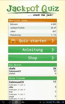 Jackpot Quiz apk screenshot