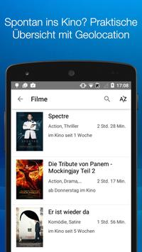 CINEPASS Kinoprogramm &Tickets apk screenshot