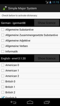 Simple Major System screenshot 2