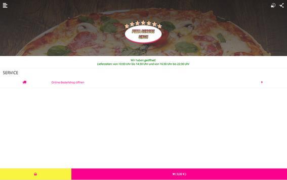 Singh Pizzaservice apk screenshot