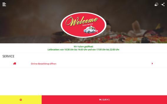 Welcome Pizza apk screenshot
