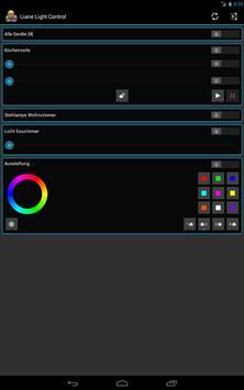 Liane Light Control screenshot 1