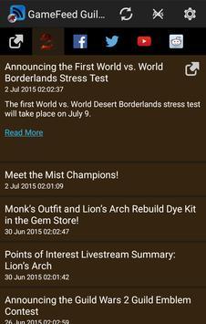 GameFeed Guildwars 2 screenshot 1