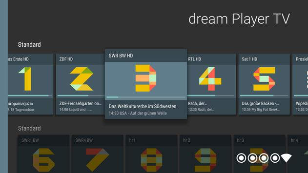 dream Player for Android TV apk screenshot