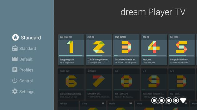 dream Player for Android TV screenshot 3