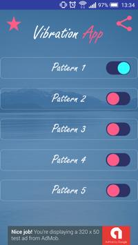 Vibration App apk screenshot
