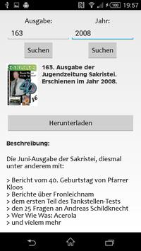Jugendzeitung Sakristei screenshot 2