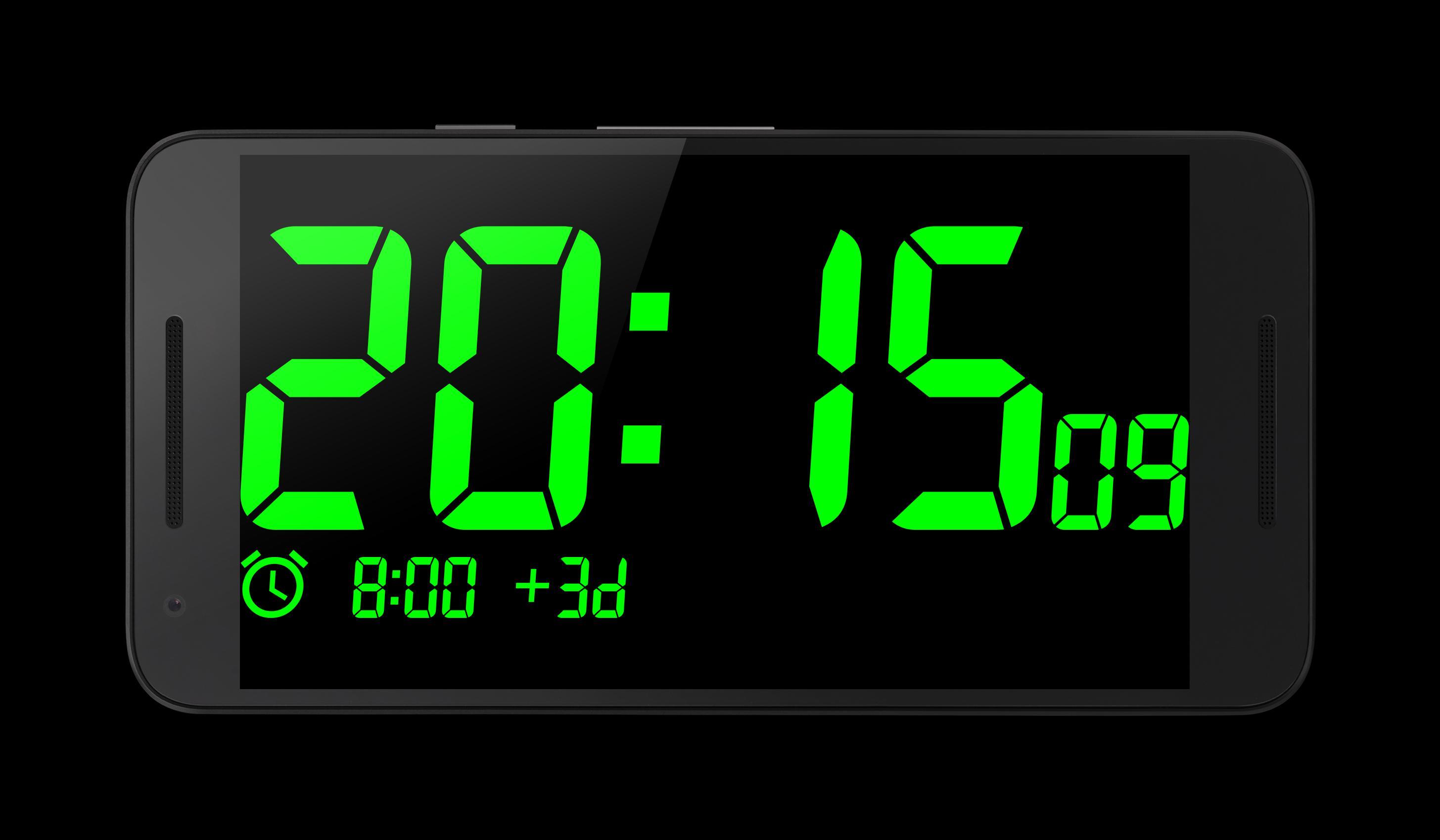 Big Digital Clock for Android - APK Download