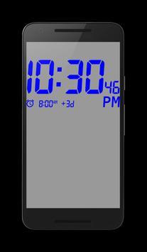 Big Digital Clock screenshot 2