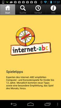 Internet-ABC: Spieletipps poster