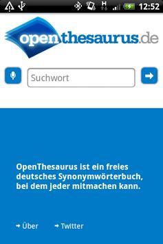 OpenThesaurus.de poster