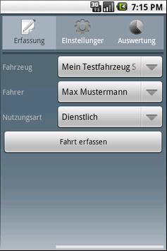 Fahrtenbuch For Android Lizenz poster