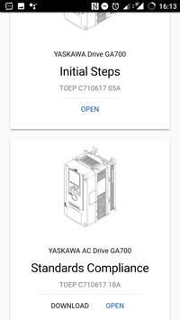 YASKAWA Manuals apk screenshot