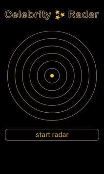 Celebrity Radar Simulation poster