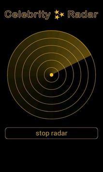 Celebrity Radar Simulation screenshot 1