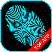Fingerprint Lock Simulation icon