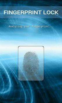 Fingerprint Lock Simulation apk screenshot