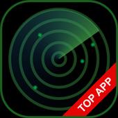 Ghosts on Radar Simulation icon