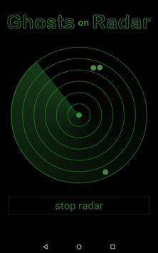 Ghosts on Radar Simulation apk screenshot