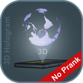 Hologram 3D icon