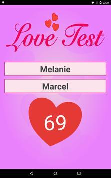 Love Test Calculator apk screenshot