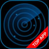 Police Radar Scanner simulated icon