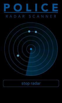 Police Radar Scanner simulated apk screenshot
