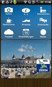 Sonneninsel Usedom poster