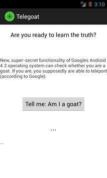 Tele Goat poster