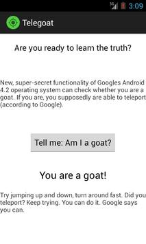 Tele Goat screenshot 1