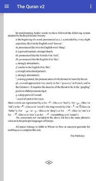 The Holy Quran Arabic/English v2 screenshot 3