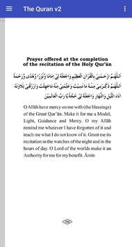The Holy Quran Arabic/English v2 screenshot 5