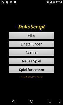 DokoScript Test poster