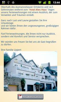 Hotel Altes Haus apk screenshot