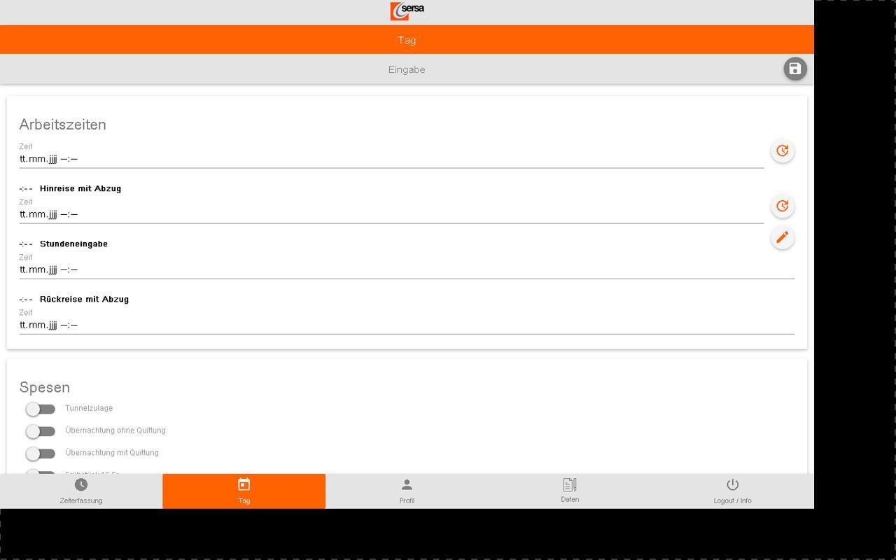 SERSA Zeit for Android - APK Download