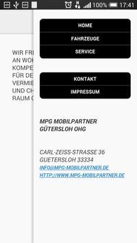 MPG Mobilpartner Gütersloh OHG apk screenshot