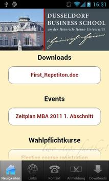 Düsseldorf Business School poster