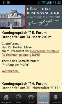 Düsseldorf Business School apk screenshot